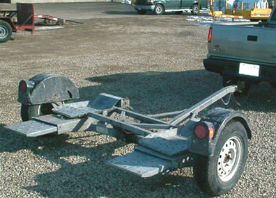 Car Tow Dolly | Eds Rental & Sales